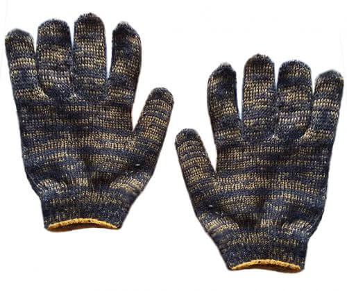 Перчатки х/б рабочие