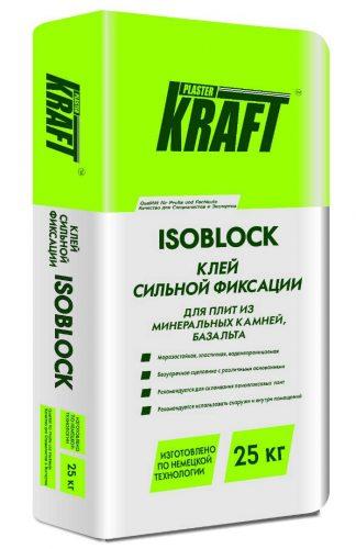 """Клей для базальта """"KRAFT"""" Isoblock (25кг)"""