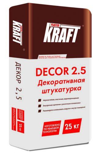 "Штукатурка декоративная ""KRAFT"" Dekor 2.5 (25кг)"