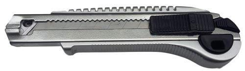 Нож строительный серый