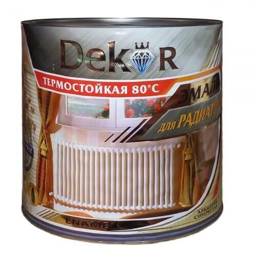 """(2.6кг) Эмаль для радиаторов отопления """"Декор"""""""