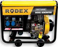 Дизельный генератор RDX7500DE (6 кВА)