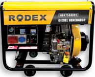 Дизельный генератор RDX7500DE3 (6.5 кВт)
