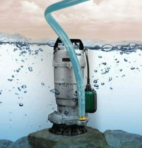 Погружной насос чистая вода RDX832 (750Вт)