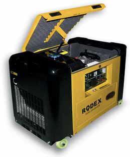 Дизельный генератор в шумозащитном кожухе RDX8500DESA (6 кВт)