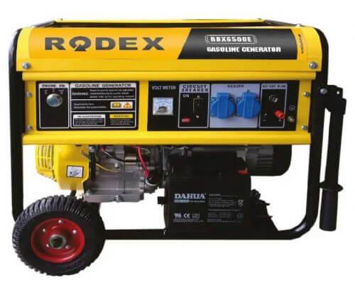 Бензиновый генератор RDX8000E (8.1 кВА)