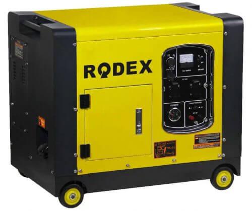 Бензиновый генератор в защитном кожухе RDX9500ES (8,8 кВА)