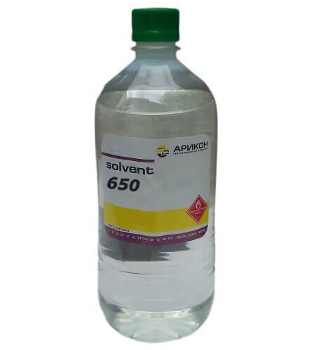 Растворитель P-650 Арикон (1л)