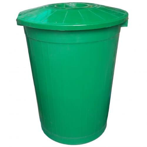 Бак мусорный зеленый (50л)