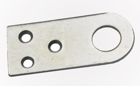 Ушко дверное прямое (железо) тонк