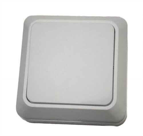 """Белый выключатель наружный """"X-PERT"""""""
