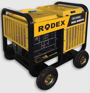 Дизельный генератор RDX15000DE3 (13.1 кВт)