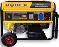 Бензиновый генератор RDX3500E (2,7 кВА)