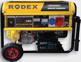 Бензиновый генератор RDX8000E3 (8.1 кВт)