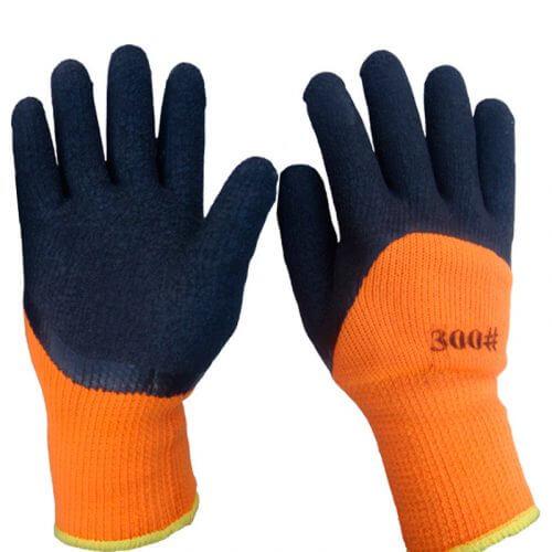 Перчатки  (#300) Черные плотные