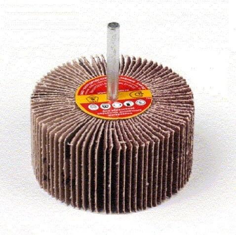 Круг лепестковый с оправкой (КЛО) 10H P120