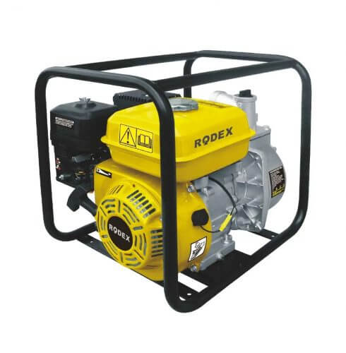 Бензиновая мотопомпа RDX030 (6,5 л.с)